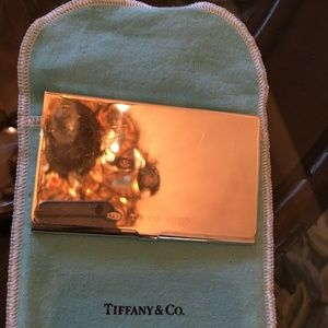 Tiffany & Co. Business Card Case .925